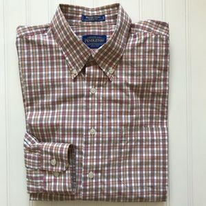 PENDLETON Long Sleeve Button Down Metro Shirt!  L